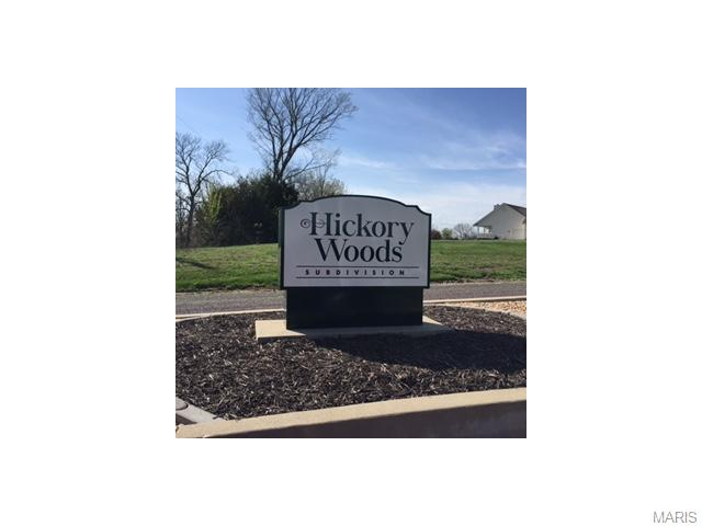 8 Lot # Hickory Woods, Washington, MO 63084