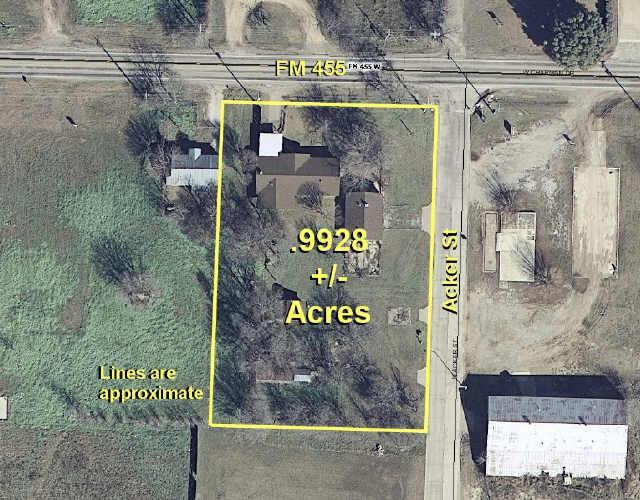 99 FM 455 West & Acker Street, Sanger, Texas 76266