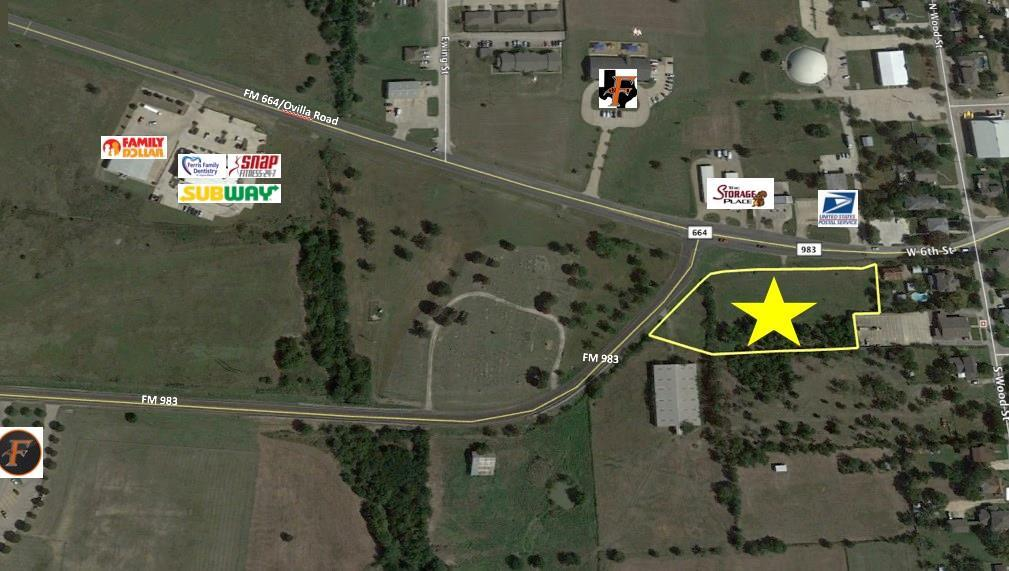 144 West FM 664 Street, Ferris, Texas 75125