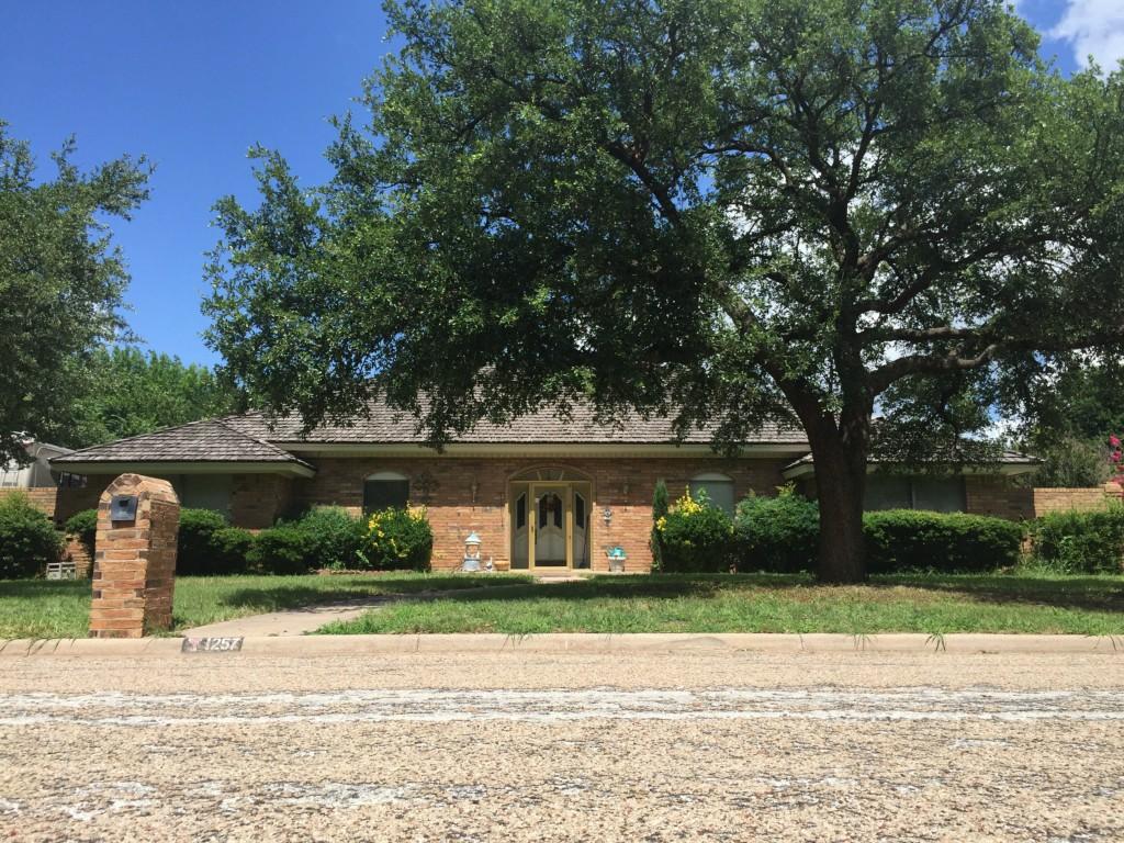 1257 Canterbury, Abilene, Texas 79602