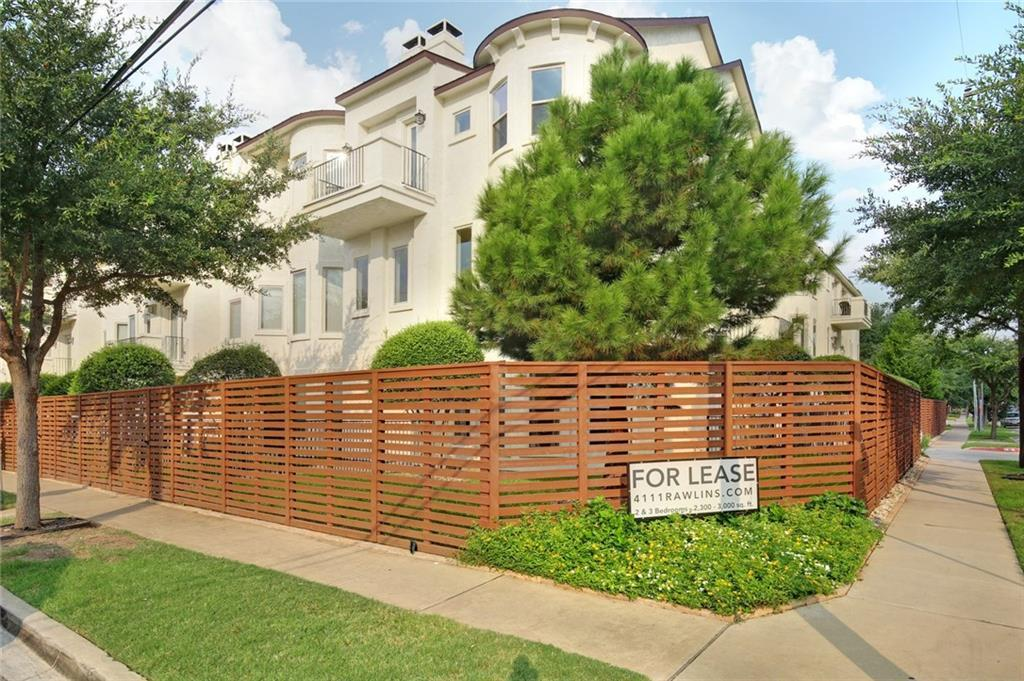 4111 Rawlins Street Unit 202, Dallas, Texas 75219