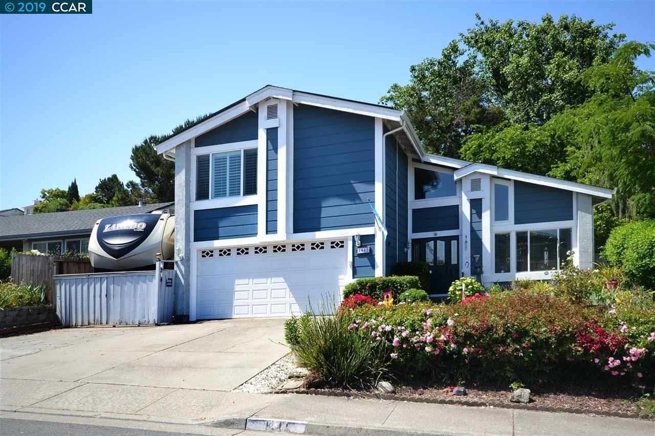 1442 Partridge Drive, Hercules, CA 94547