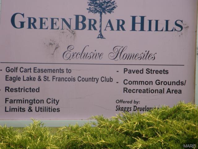 35 Green Briar Drive, Farmington, MO 63640