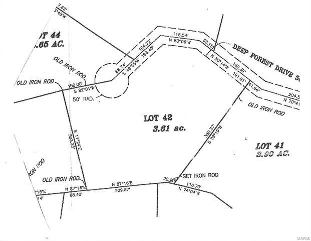 408 Deep Forest Drive, Hawk Point, MO 63349