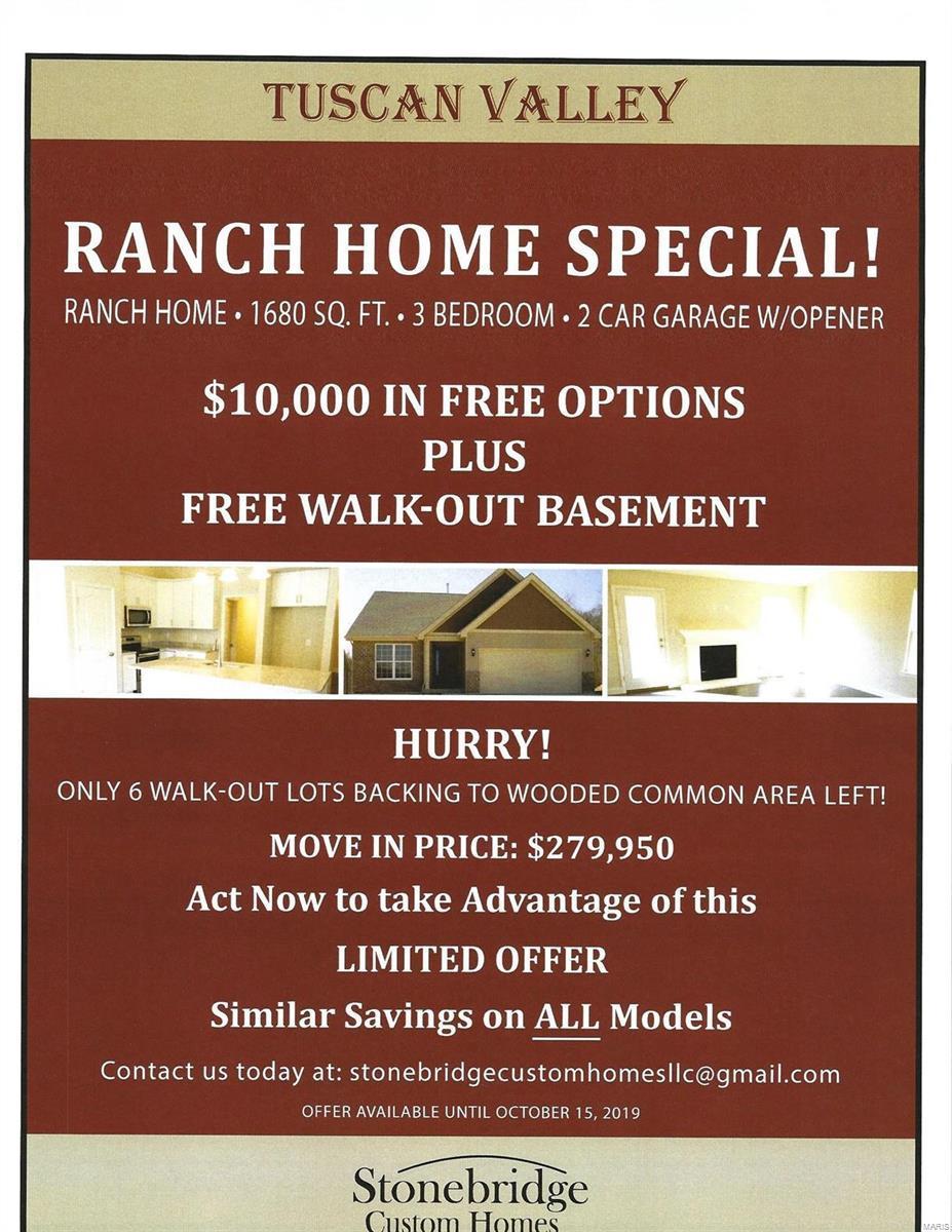 3168 Tbb Tuscan Valley Estates Court , Arnold, MO 63010